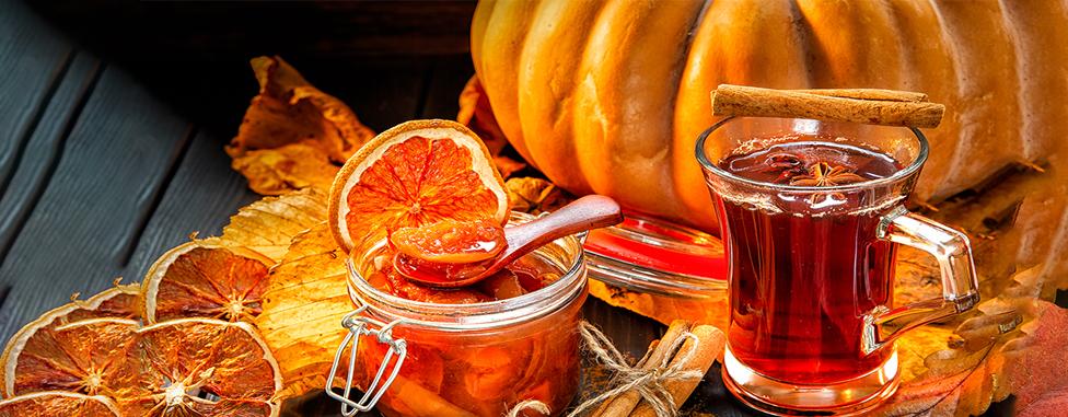 Храни и напитки за есенно настроение
