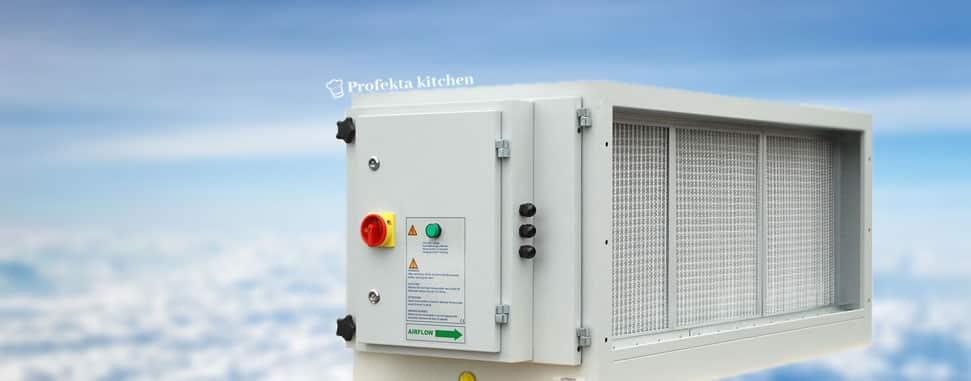 Пречистване на въздуха в професионалните кухни